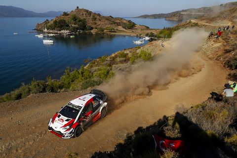 Sights from the WRC action at Rally Turkey Sunday Sept. 16, 2018.