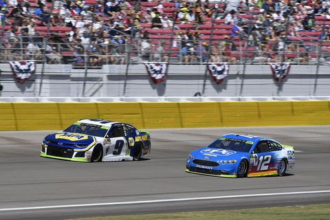 Sights from the NASCAR action at Las Vegas Motor Speedway, Sunday Sept. 16, 2018.