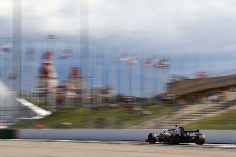 Sights ahead of the F1 Russian Grand Prix Saturday Sept. 29, 2018.