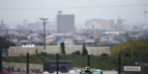 Sights from the F1 action ahead of the Japanese Grand Prix, Saturday Oct. 6, 2018.