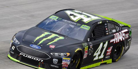 The pole was Kurt Busch's fifth of the season and the 27th of his career.