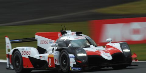 One thing we do know is that Alonso will be in a LMP1 effort for Toyota at Fuji this weekend.