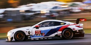 Connor DePhillippi and Tom Blomqvist will pilot a BMW M8 GTE for Rahal Letterman Lanigan Racing.