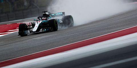 Lewis Hamilton has won five of the last six F1 races at COTA.