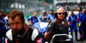 Gene Haas has seen his Haas F1 team reach No. 5 in the Formula 1 Constructors' Championship standings this season.