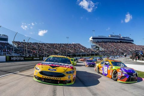 Sights from the NASCAR action at Martinsville Speedway, Sunday Oct. 28, 2018.
