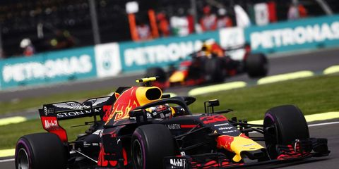Sights from the F1 Mexican Grand Prix, Sunday Oct. 28, 2018