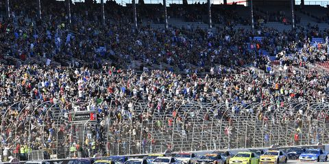 Sights from the NASCAR action at Texas Motor Speedway, Sunday Nov. 4, 2018.