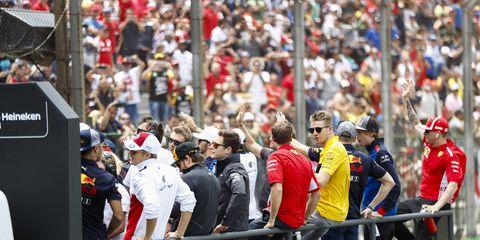 Sights from the F1 Brazilian Grand Prix Sunday Nov. 11, 2018.