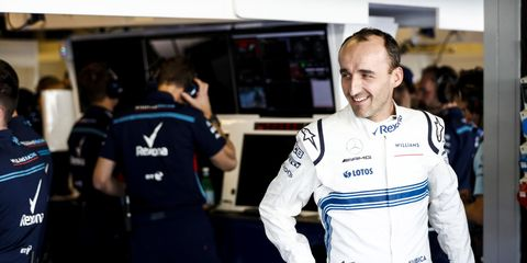 Robert Kubica will pair with F2 champion George Russell at the Williams F1 team next season.