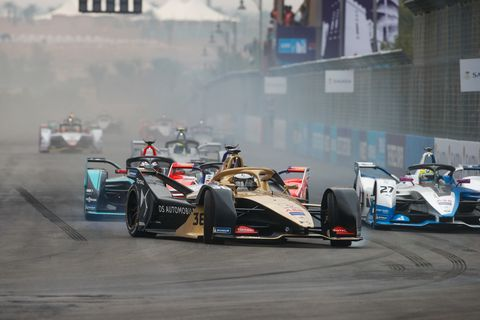 Sights from the 2018 Formula E Ad Diriyah E-Prix in Saudi Arabia  Saturday Dec. 15, 2018.