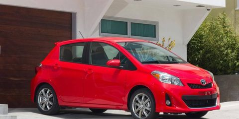 The 2012 Toyota Yaris SE is a functional econobox providing adequate transportation from point A to point B.