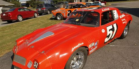 The 1978 Chevy Camaro that provided the last victory and championship for A.J. Foyt, the only man to win the Indianapolis 500, Daytona 500, 24 Hours of Daytona, 12 Hours of Sebring, and the 24 hours of Le Mans.