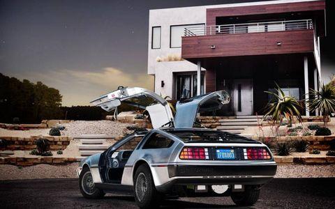 DeLorean DMC-12 all-electric prototype