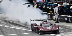 The No. 55 Mazda DPi finished 42nd at the recent Rolex 24 at Daytona.