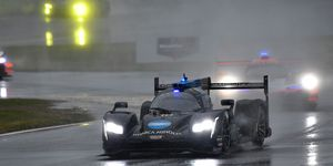 Fernando Alonso was racing in the Rolex 24 for the second straight year and co-drove the No. 10 Cadillac DPi with Jordan Taylor, Renger van der Zande and Kamui Kobayashi.