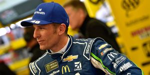 Jamie McMurray took his turn leading the Daytona 500 before ending up in a massive crash late and finishing 22nd.