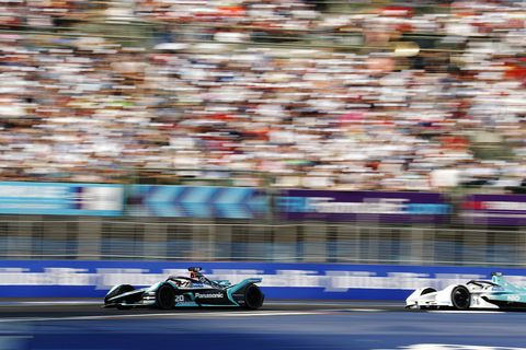 Sights from the Mexico City Formula E ePrix Saturday Feb. 16, 2019.