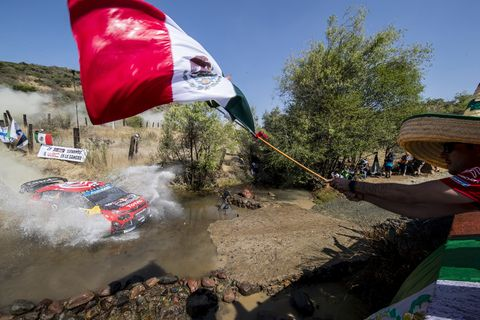 Sights from the WRC Rally Guanajuato Mexico Sunday March 10, 2019.