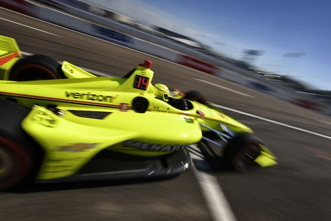 Sights from the NTT IndyCar Series action in St. Petersburg Friday March 8, 2019.