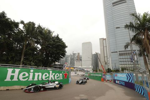 Sights from the Formula E Hong Kong E-Prix Sunday March 10, 2019.