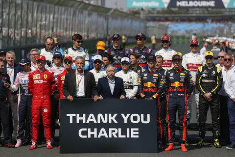 Sights from the F1 Australian Grand Prix Sunday March 17, 2019.