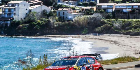 Sights from the WRC Corsica Linea - Tour de Corse, Sunday March 31, 2019.