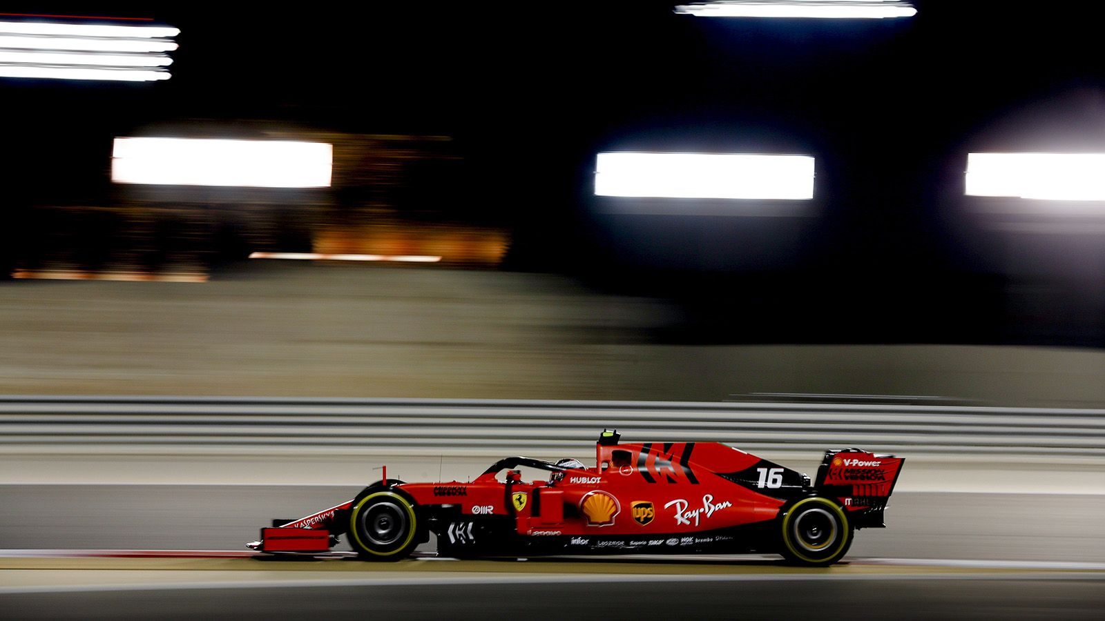 F1 Bahrain Qualifying Results Charles Leclerc Scores Maiden Pole In Record Fashion