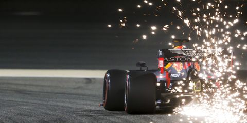 Sights from the F1 Bahrain Grand Prix, Saturday March 30, 2019.