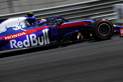 Sights from the action at the F1 Chinese Grand Prix Saturday April 13, 2019.