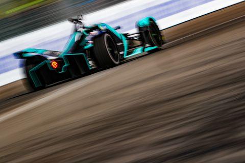 Sights from the Formula E Rome E-Prix Saturday April 13, 2019.