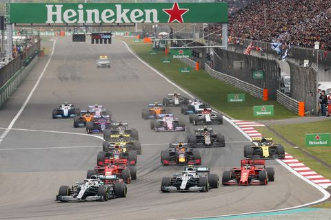 Sights from the F1 Chinese Grand Prix Sunday April 14, 2019.