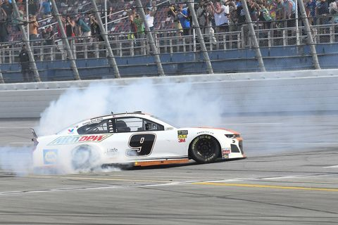 Sights from the NASCAR action at Talladega Superspeedway Sunday April 28, 2019.