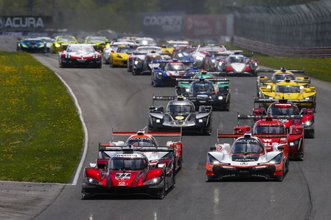 Sights from the IMSA WeatherTech SportsCar Acura Sports Car Challenge at Mid-Ohio May 5, 2019.