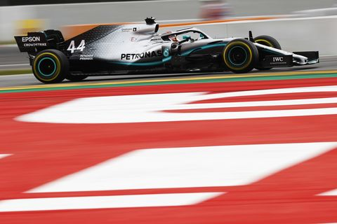 Sights from the F1 Spanish Grand Prix in Barcelona, Spain Saturday May 10, 2019.