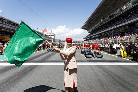 Sights from the F1 Spanish Grand Prix Sunday May 11, 2019.