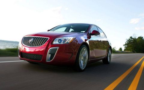 The 2012 Buick Regal GS is well-executed and fun to drive.