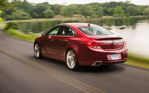 In GS form, the Buick Regal matches up fairly well with competitors like the Acura TSX.