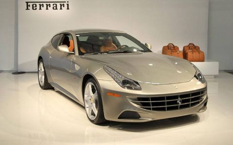 The Ferrari FF is this years car fantasy gift, other makes have included BMW, Jaguar and Chevy