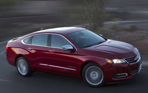 Buyers will have the choice of 18-, 19- or 20-inch wheels on the 2014 Impala.
