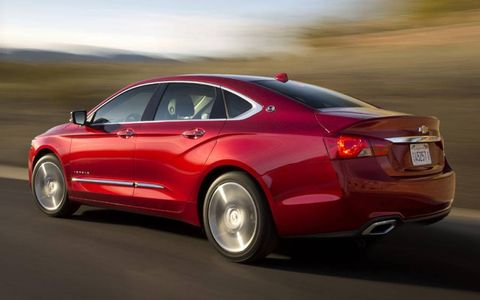 The 2014 Impala features a 3.6-liter V6 engine boasting 305-hp.