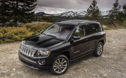 The 2014 Jeep Compass Latitude received fuel economy ratings of up to 30 mpg highway.