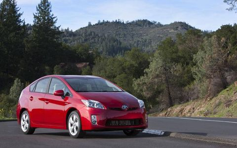 Driver's Log Gallery: 2010 Toyota Prius