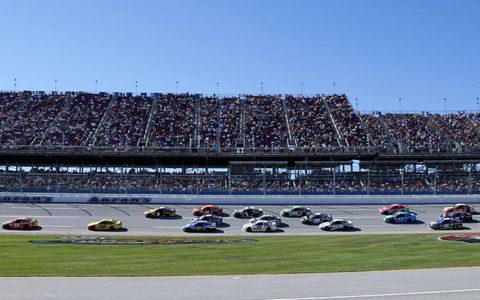 Matt Kenseth leads the way early on.
