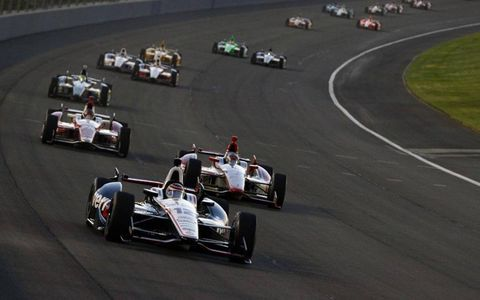 Will Power leads the way at Fontana