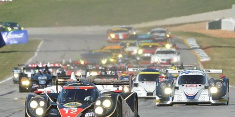 Rebellion Racing of drivers Neel Jani, Andrea Belicchi and Nicolas Prost started on the pole and went on to win the overall title and P1 class at Petit Le Mans on Saturday.