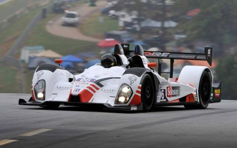 The PC class champions at Petit Le Mans was the Core Autosport team of drivers Ryan Dalziel, Alex Popow and Mark Wilkins.