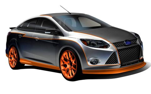 A race-ready 2012 Ford Focus by Capaldi Racing