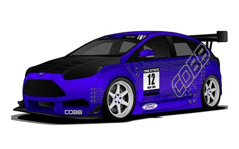 A 2012 Ford Focus by COBB Tuning