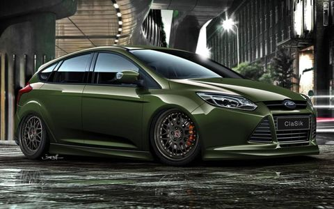 A customized version of the 2012 Ford Focus by The ID Agency